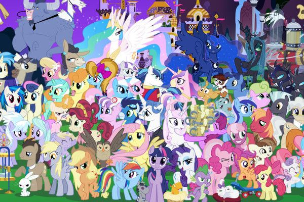 how many 39 my little pony 39 characters can you name mlp fim my little pony characters my. Black Bedroom Furniture Sets. Home Design Ideas
