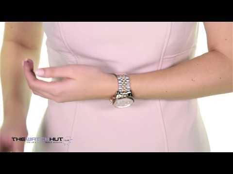 03cf4025098b Michael Kors Ladies Fashion Watch MK5735 - YouTube