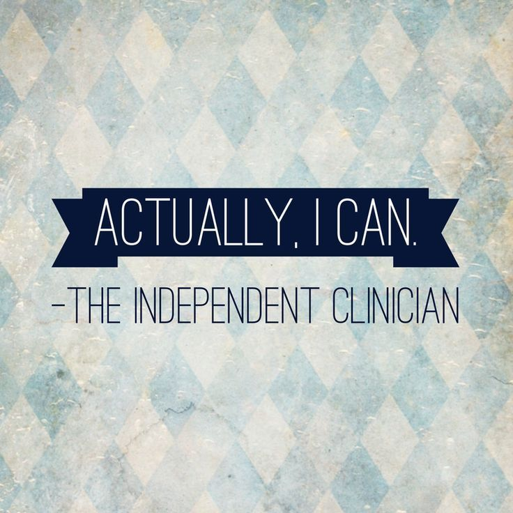 Curious about treating private clients? Learn how the founder of The Independent Clinician got started: www.independentcl...
