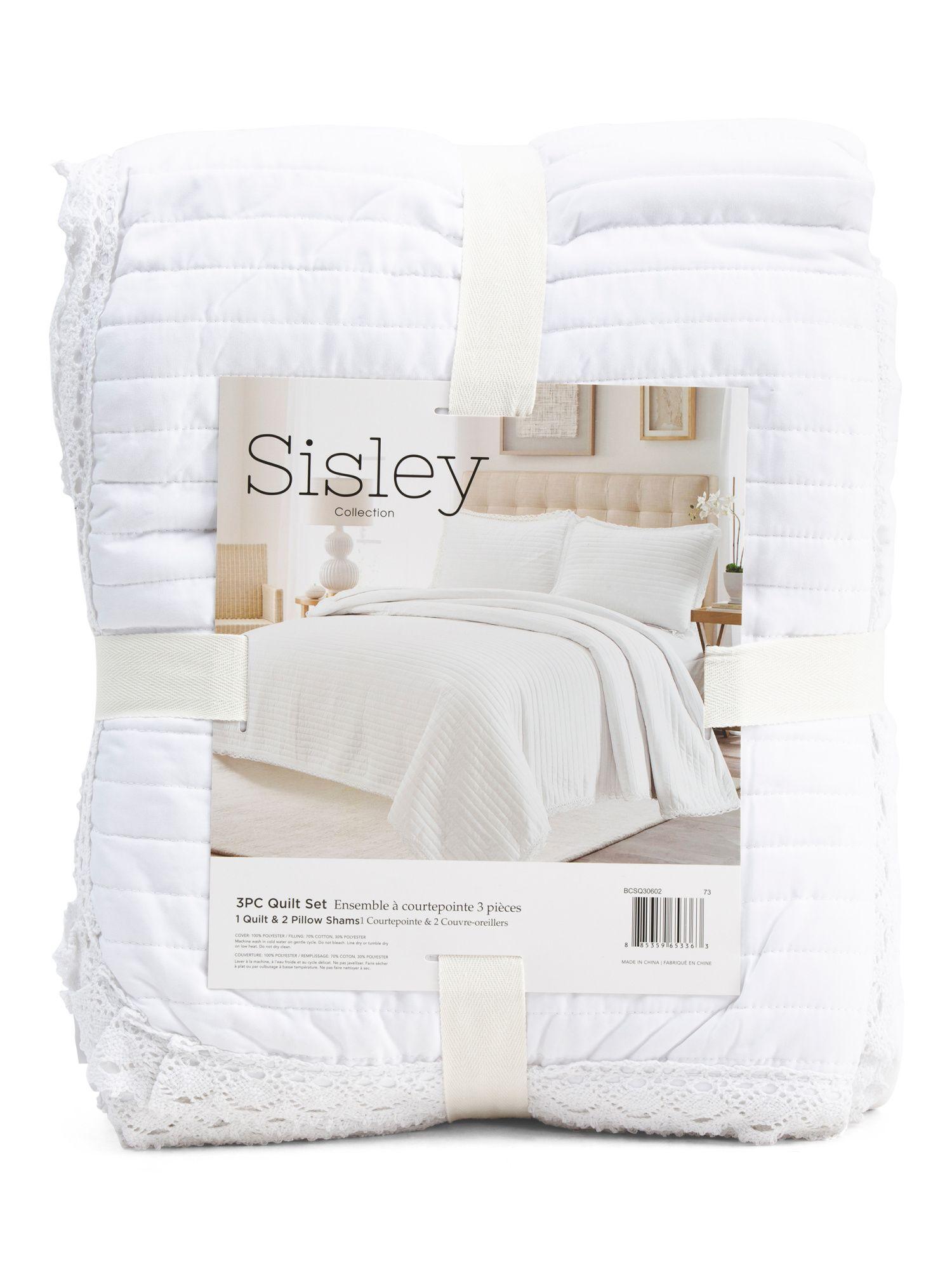 3pc Crochet Quilt Set Bedroom T.J.Maxx in 2020 Quilt