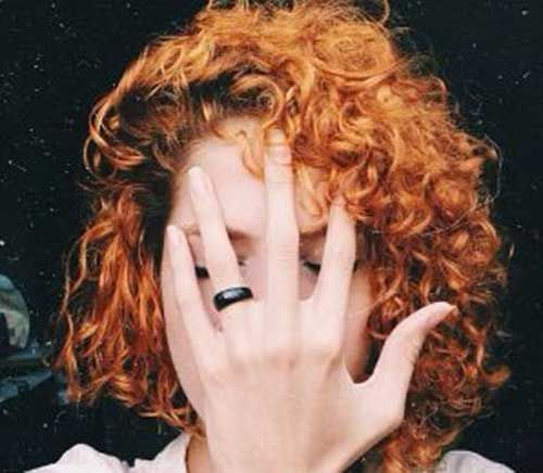 Www Short Haircut Com Wp Content Uploads 2016 08 Short Curly Red Hair Jpg Pelo Rizado Rojo Pelo Corto De Pelirrojo Peinados Rizados Naturales