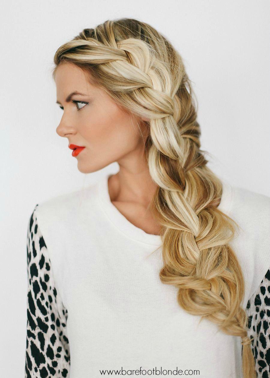 Side braid video tutorial barefoot blonde braid tutorials