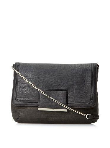 60% OFF R + J Women\'s Jasmina Shoulder Bag (Black)