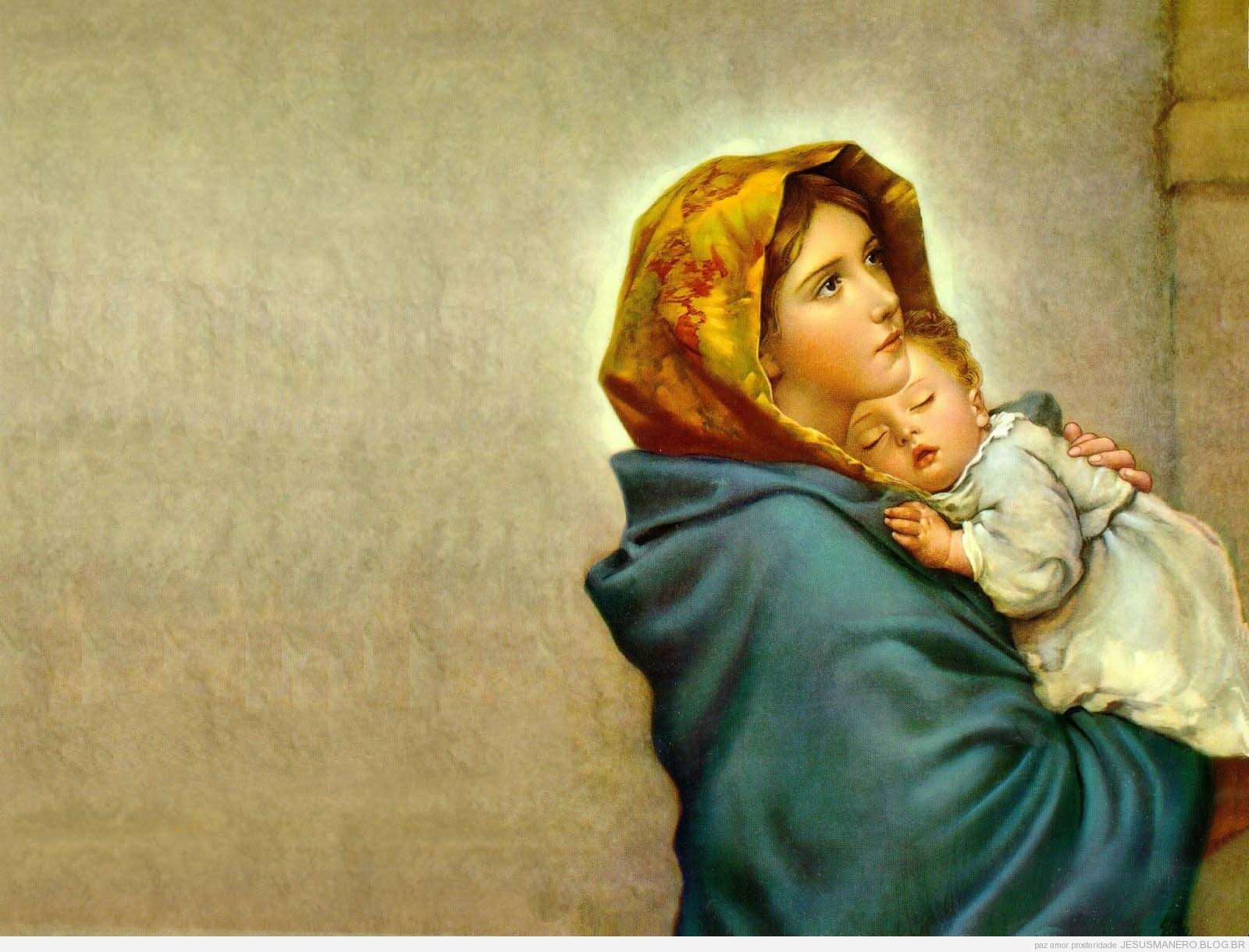 Mother Mary With Baby Jesus Wallpapers Wallpaper Cave Blessed Mother Mary Madonna And Child Mother Mary