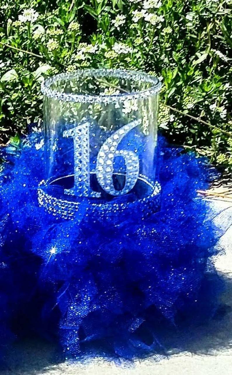 Sweet 16 gift, Sweet 16 decorations, Sweet 16 centerpiece, Sweet 16 party decorations, On sell Sweet 16 decorations