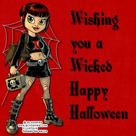 Captivating Wishing You A Wicked Happy Halloween!
