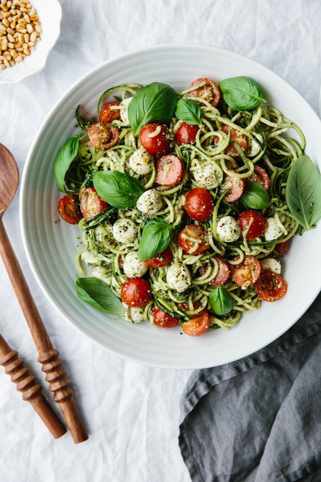20 spiralized vegetable noodle recipes