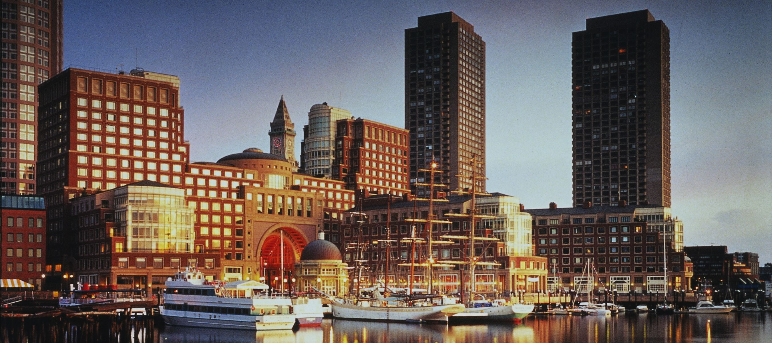 Boston Hotel Interview Harbor S Waterfront Splashed With Vibrant