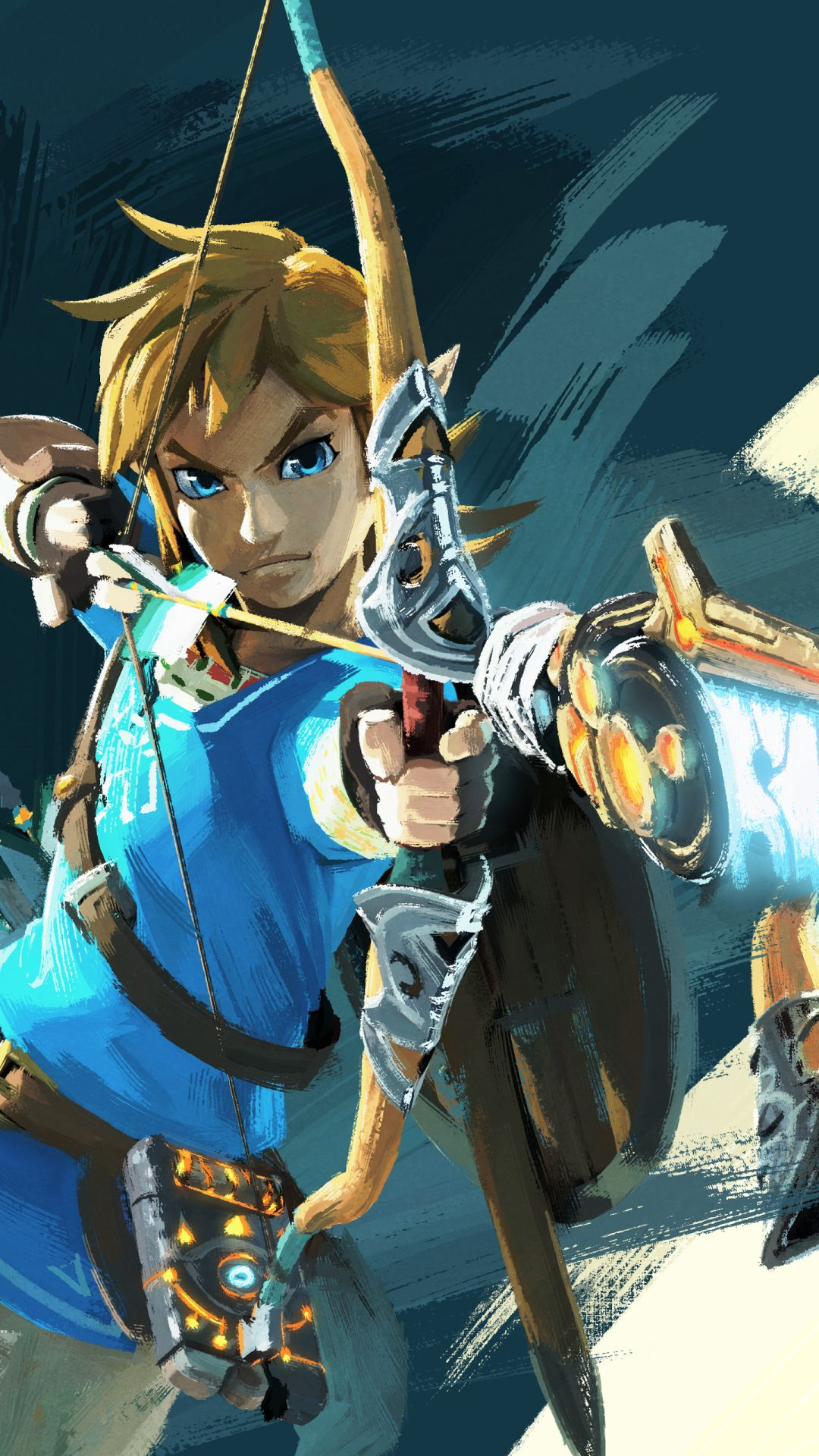 The Legend of Zelda Ocarina of Time D iPhone Wallpaper