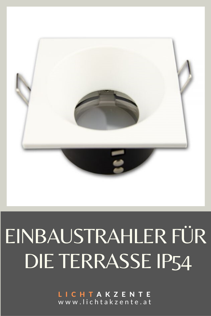 Aussen Deckenspot Eckig Weiss Ip54 In 2020 Badezimmer Quadratisch Strahler Deckenstrahler