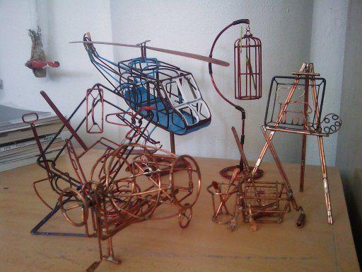 Alambre de cobre soldado alambre de cobre cobre y alambre - Alambre galvanizado manualidades ...