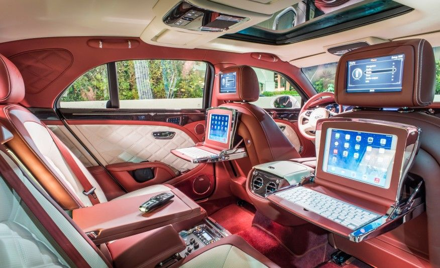 This Is the Best Car Interior Money Can Buy - Photo Gallery of Feature from Car and Driver - Car Images - Car and Driver