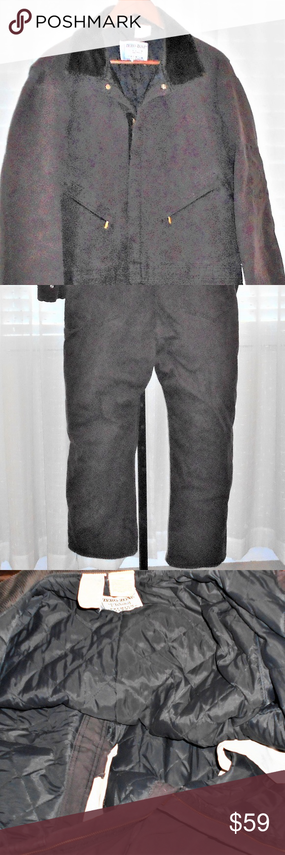 walls zero zone canvas coveralls men xl regular on wall insulated coveralls for men id=79912