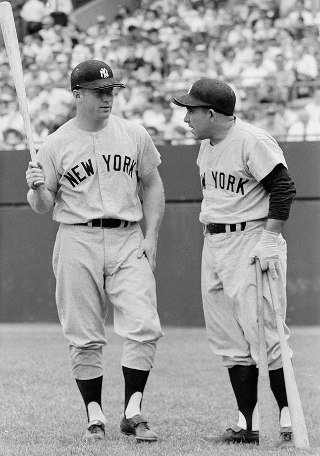 a37b7529934 Mickey Mantle and Yogi Berra (1960)