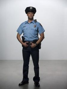 How To Make A Quick Policeman Costume Ehow Police Workout Police Academy Police Officer Requirements