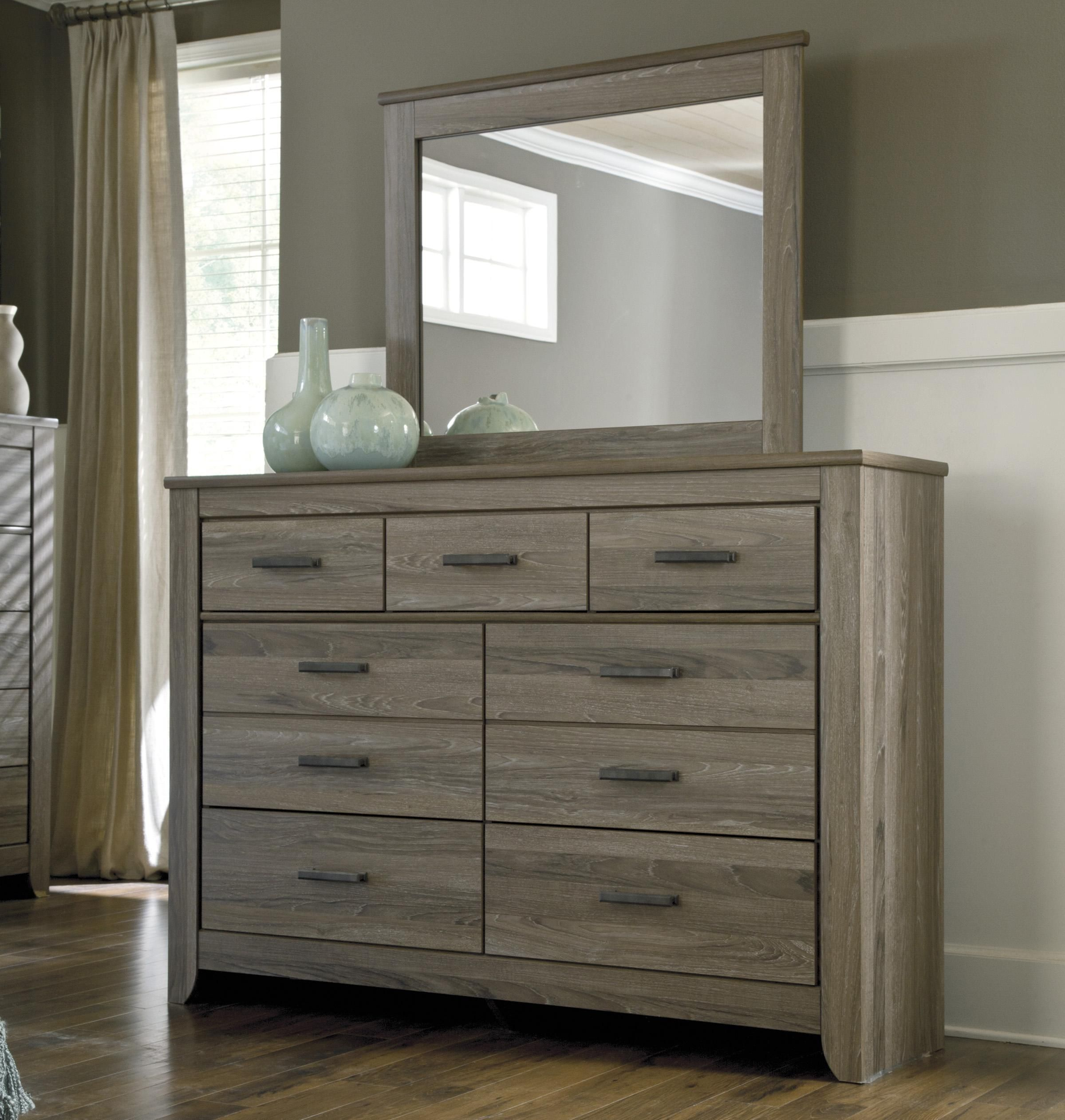 "Zelen Dresser 6126""w X 1591""d X 4278""h  Furniture Decor And Adorable Ashley Bedroom Dressers Review"