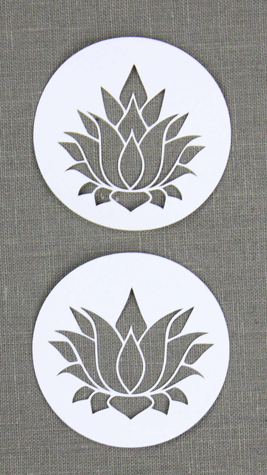 Lotusblüte [Plotterfreebie | Lotusblüte, Fensterdekorationen und ...