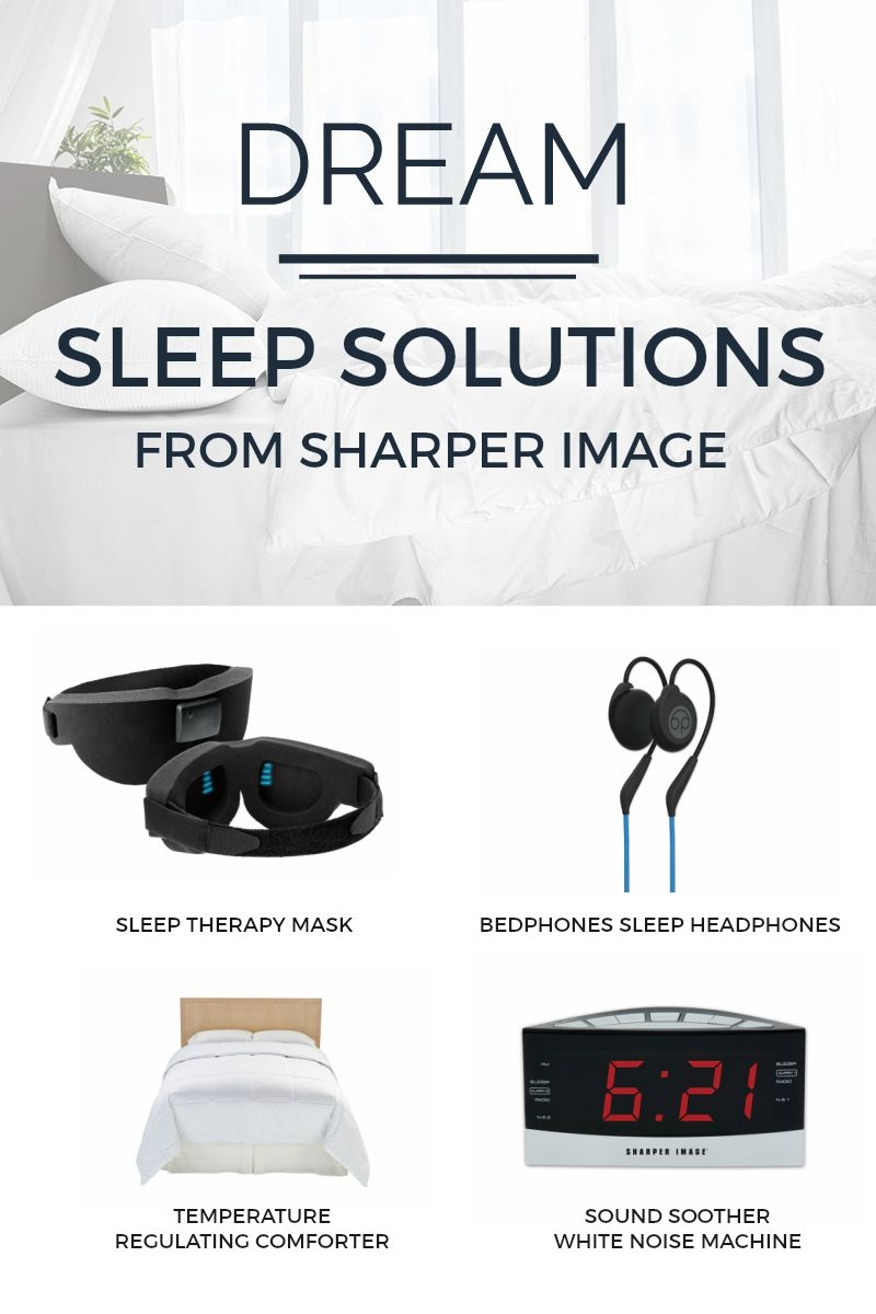 Shop Sharper Image Sleep Solutions For The Latest In Sleep