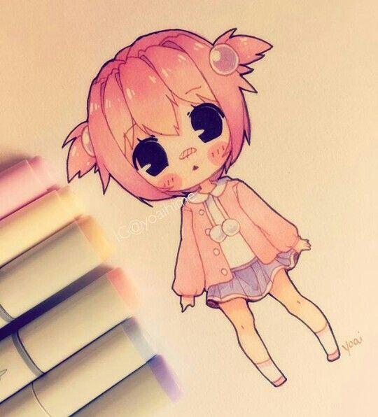 yoaihime (instagram) | Drawing | Pinterest | Instagram, Chibi and Anime