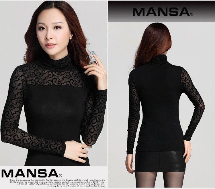 2016 New Hot spring autumn long sleeve elegant ladies shirts plus size clothing female blouse blusa feminina