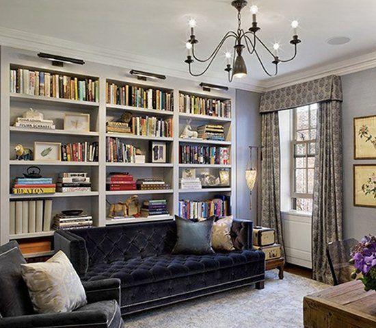 Interior Design Staple: Stylish Bookshelves - Lighting & Interior Design Ideas Blog - LampsPlus.com