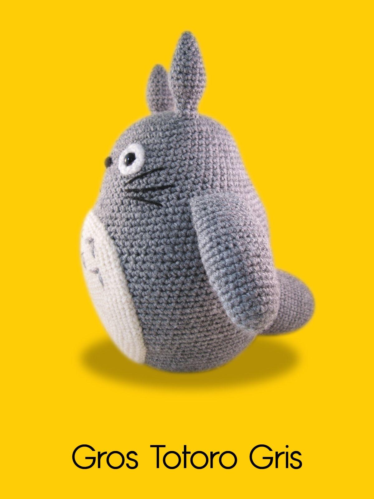 modele-gratuit-crochet-totoro   tejido   Pinterest   Tejido