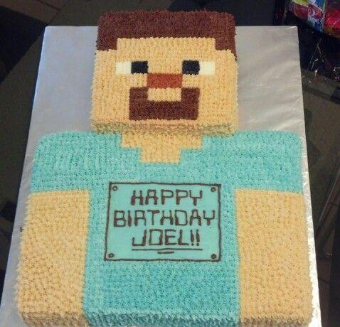 Miraculous Steve From Minecraft Minecraft Birthday Minecraft Birthday Funny Birthday Cards Online Eattedamsfinfo
