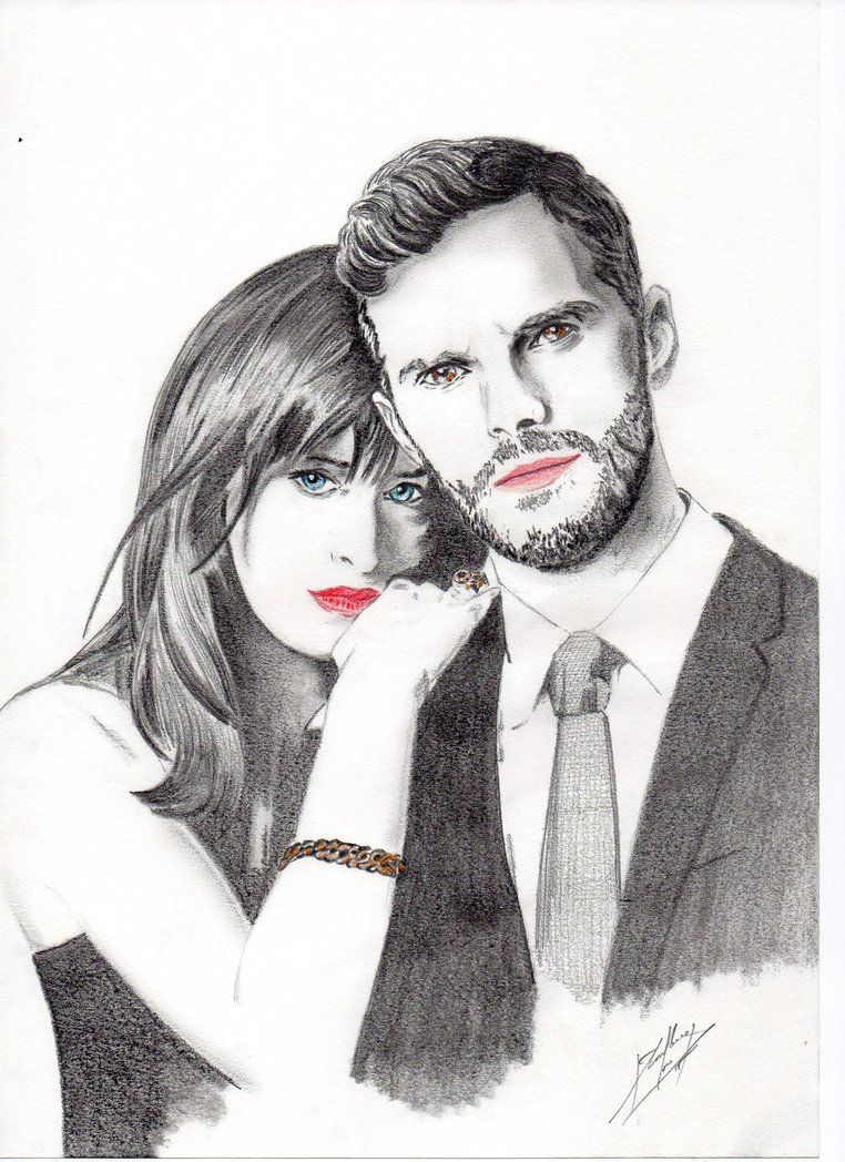 Cincuenta Sombras De Grey Fifty Shades Of Grey By Whassouh On Deviantart Fifty Shades Celebrity Drawings Fifty Shades Of Grey