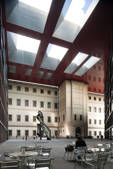 Museo nacional reina sofia jean nouvel with vidal y asociados arquitectos google search - Estudios arquitectura bilbao ...