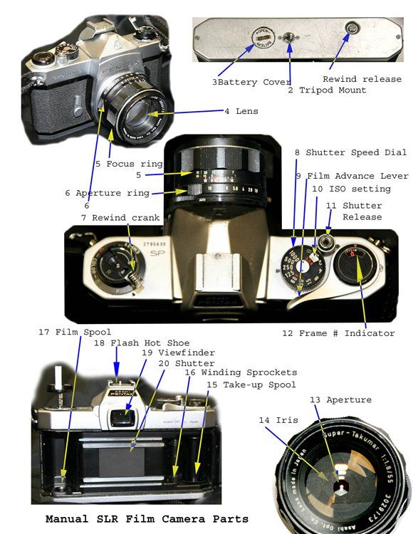 Entry Assignment Parts Of A Film Slr Camera Advanced Photography Blog Photography 2 Issa Film Camera Photography Advanced Photography Camera Photography