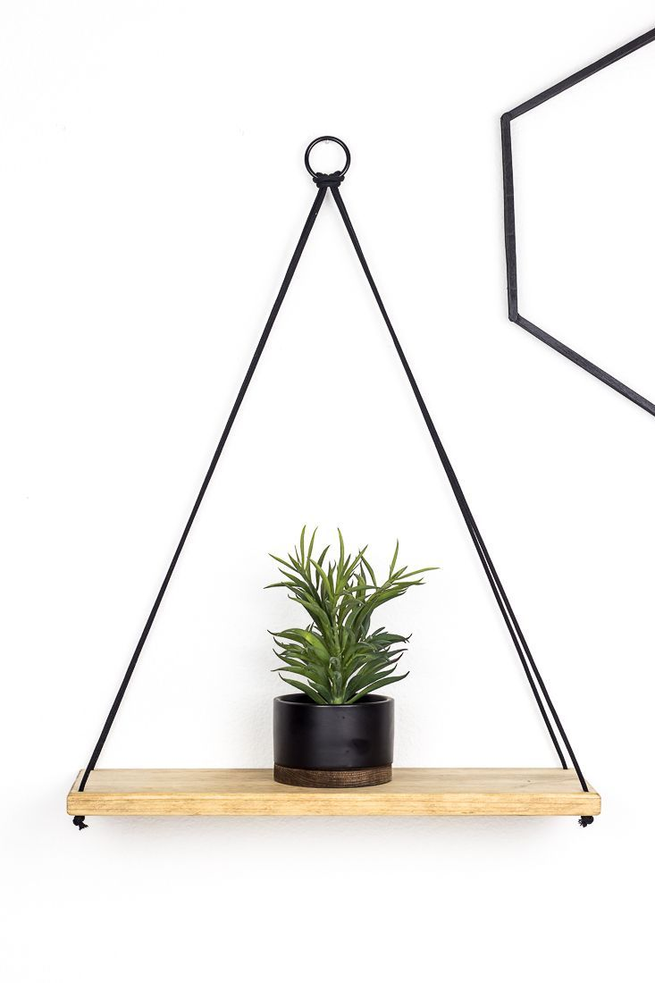 Photo of How to Build a Simple DIY Hanging Shelf