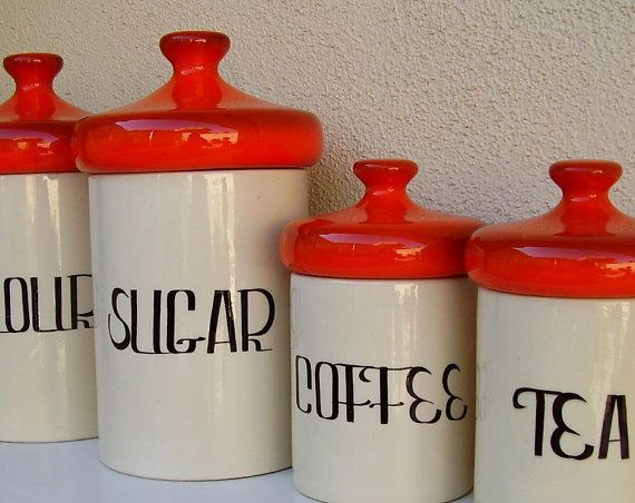 Explore Vintage Canisters Kitchen Canisterore