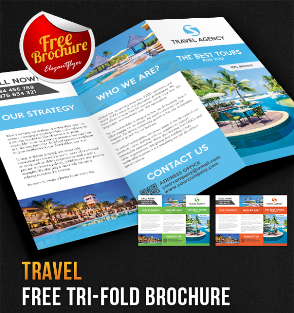 Free Brochure Templates For Word To Download Brilliant Download Free Brochure Templates Designed In Psd Indesign Ms Word .
