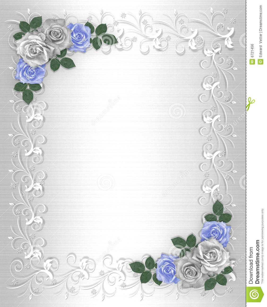 Background Wedding Border Design | Wedding Invitation Border White ...