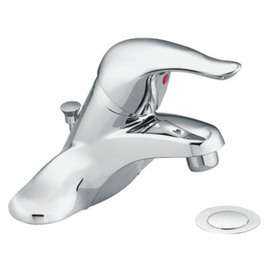 Moen Chateau Single Handle Bathroom Faucet L46 Bathroom Faucets Single Handle Bathroom Faucet Low Arc Bathroom Faucet [ 900 x 900 Pixel ]
