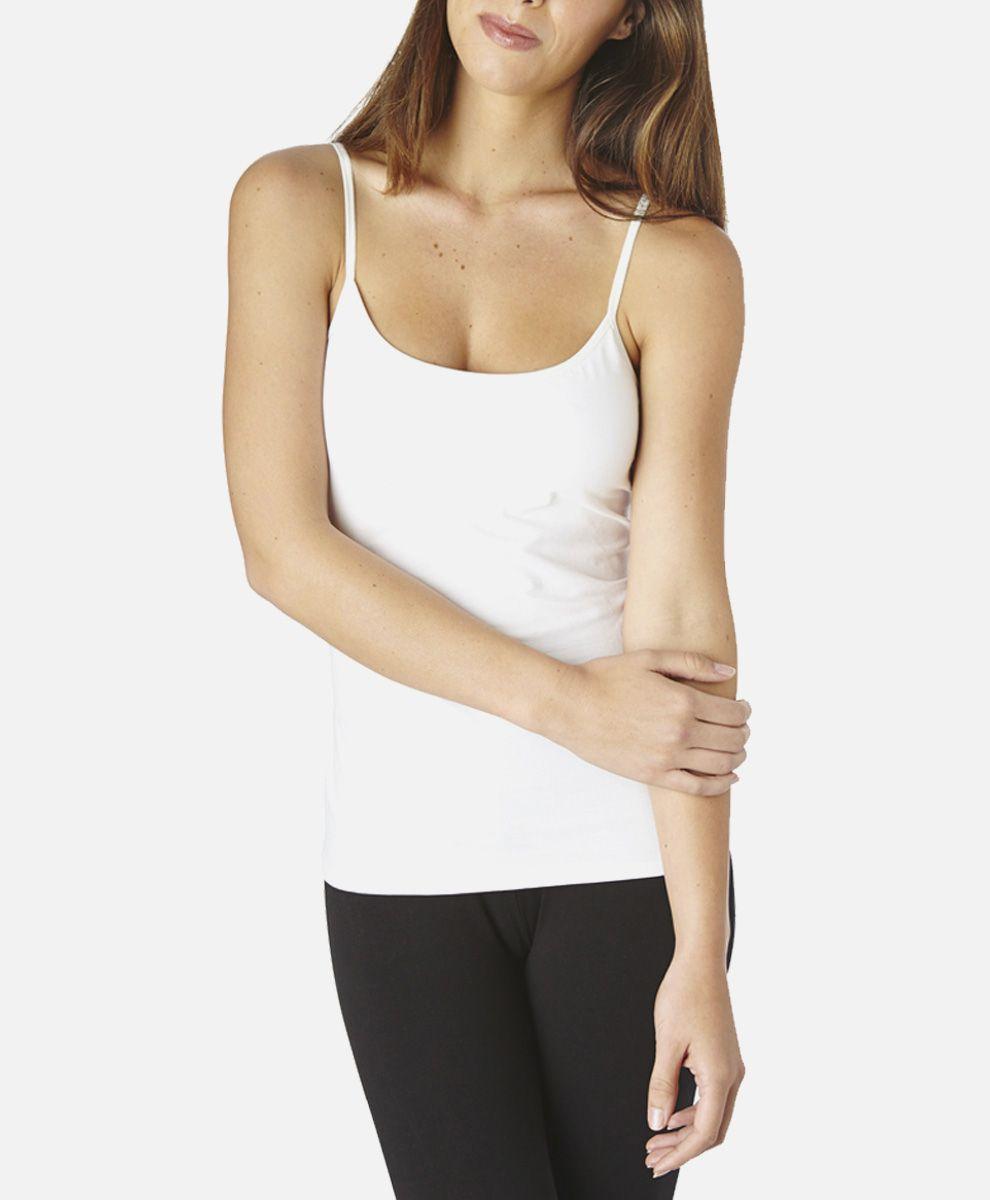 655475f2bfe0c Women s Super Soft Cotton Shelf Bra Camisole