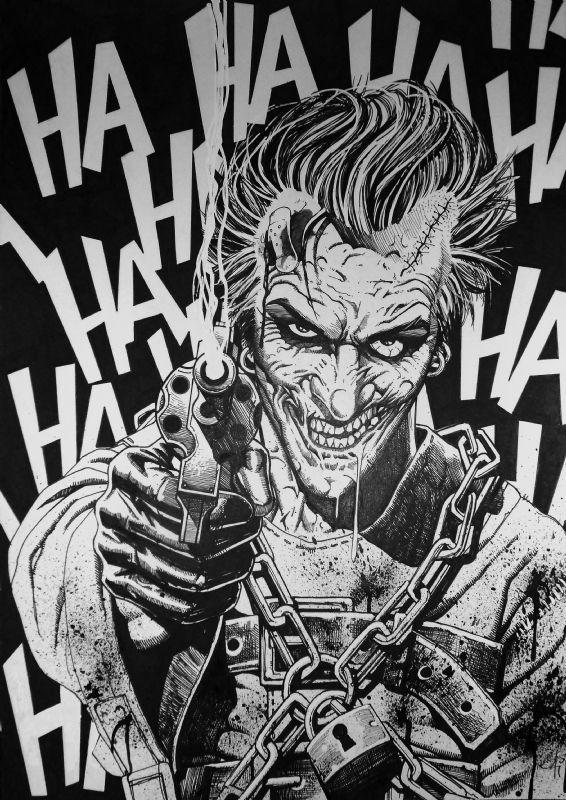 The Joker Noel Guard Joker Harley Pinterest Joker Comics
