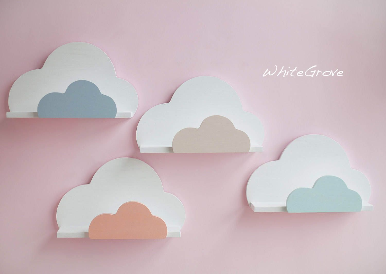 Cloudshelfcloud Shelfcloud Nursery Decorcloud Kids Etsy Cloud Nursery Decor Clouds Nursery Cloud Shelves