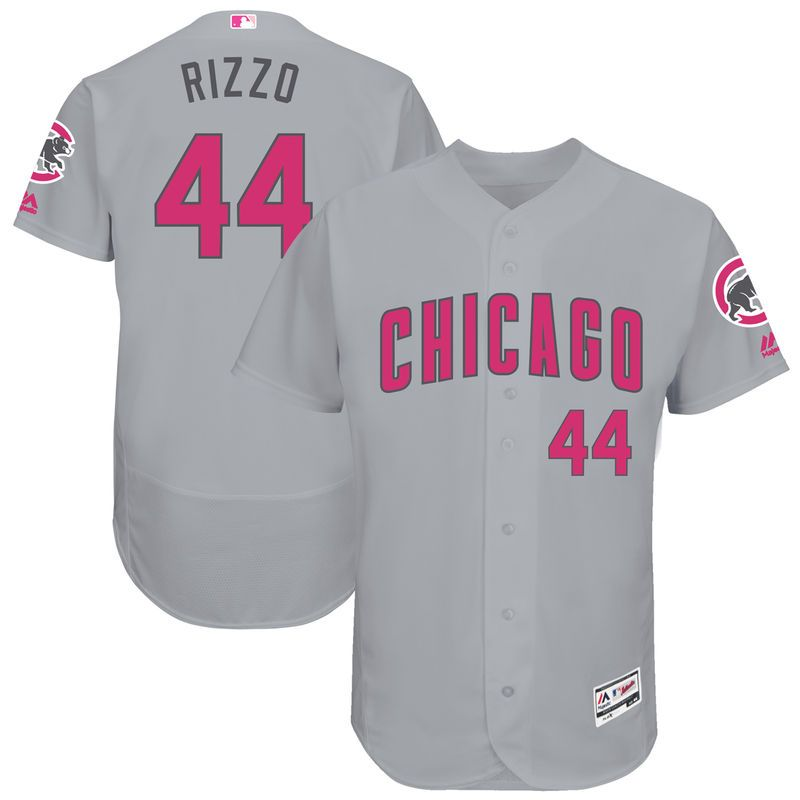buy popular cb227 cfd0f Anthony Rizzo Chicago Cubs Majestic Mother's Day Flex Base ...