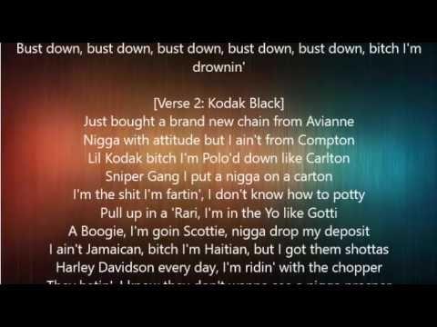 A Boogie Wit Da Hoodie Drowning Feat Kodak Black Lyrics With