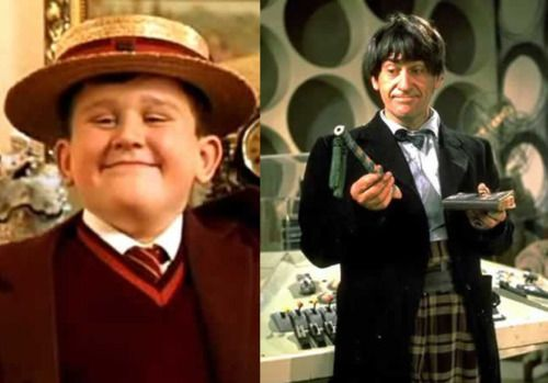 Marieannetoinette Harry Melling A K A Dudley Dursley Is Patrick Troughton S Grandson Mte Doctor Who Actors Second Doctor