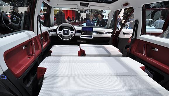 2014 VW Microbus Interior  Volkswagen Microbus 2014 Interior