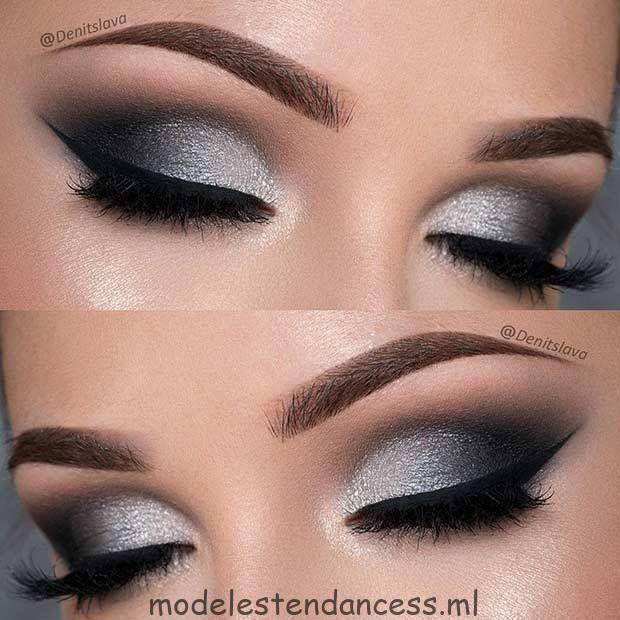 Sie können extrem schön   aussehen, wenn Sie das richtige Abschlussball-Make-up tragen - Suzy's Fashion #glittereyemakeup