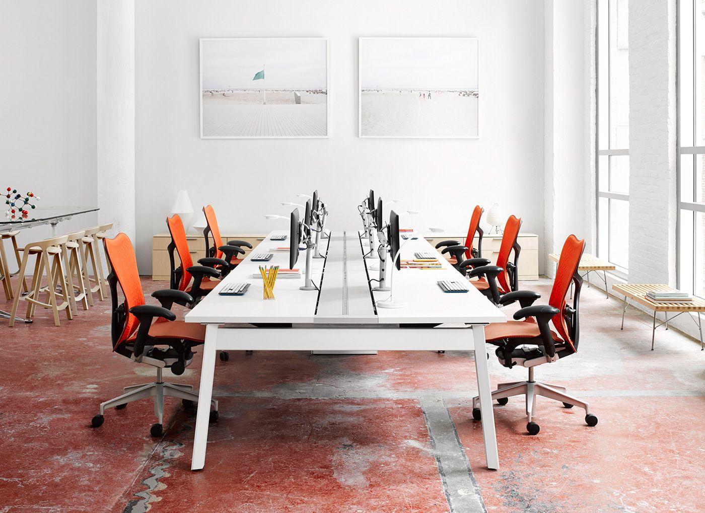 Herman Miller Eames® Storage Unit Eames desk, Desk units