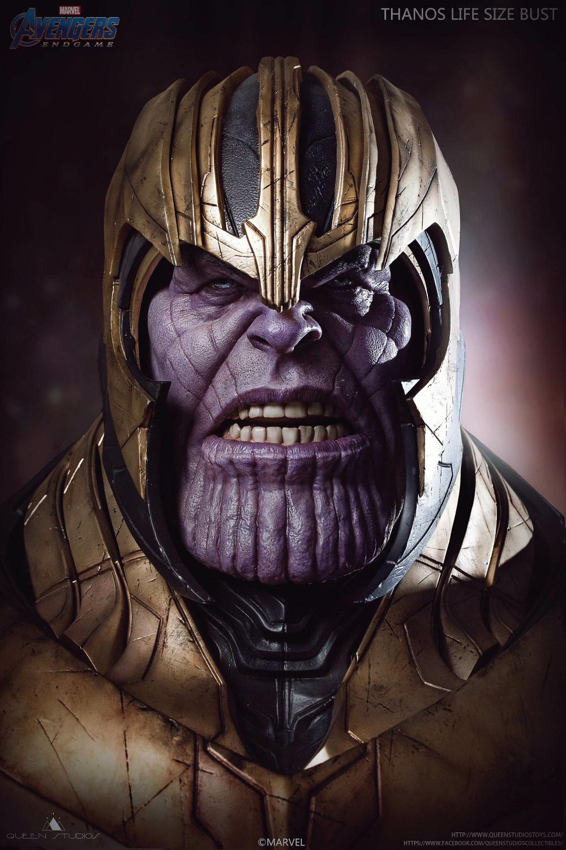 Artstation Thanos Statue Smile Z Thanos Marvel Marvel Superhero Posters Marvel Comics Wallpaper