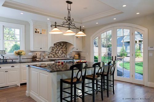 Love These Arched French Doors. Divine Kitchens LLC   Traditional   Kitchen    Other Metro   Divine Kitchens LLC