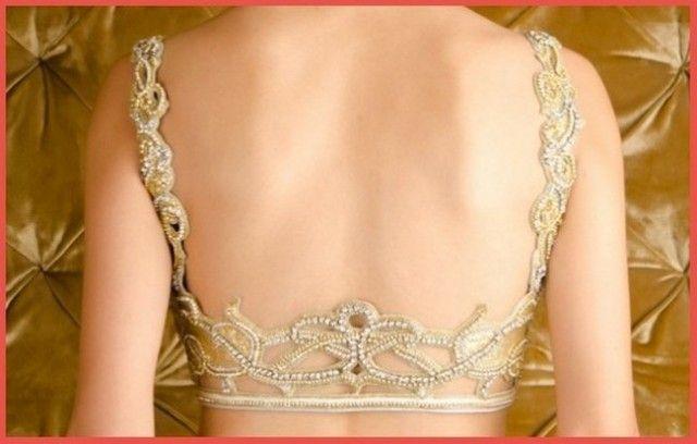 Latest Trends Saree Blouse Back Neck Designs Catalog