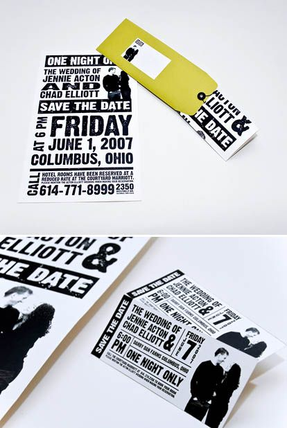 Flickr Inspiration Galleries - Save-the-Dates Wedding, Weddings - best of wedding invitation design fonts