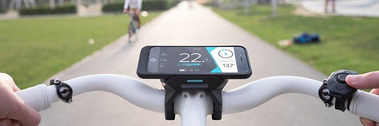 Smartphone houder fiets die navigatie, bevestiging, automatische ...