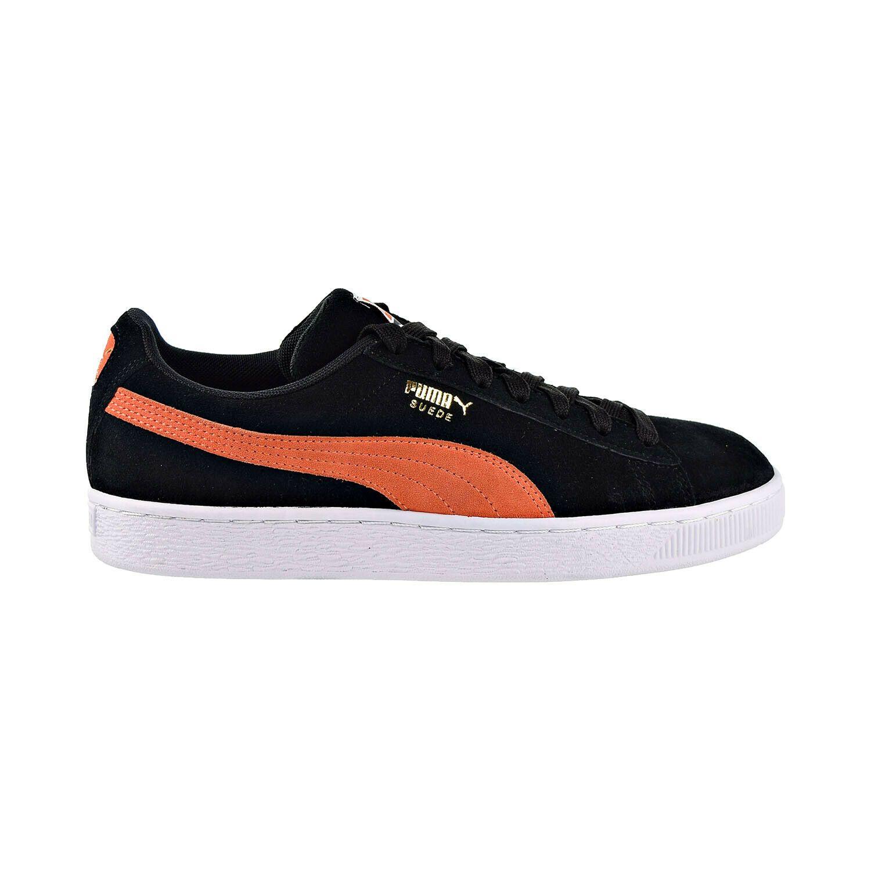 Puma Suede Classic Mens Shoes BlackFirecrackerWhite 365347
